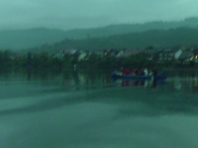Us, canoeing down the Rhine