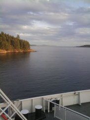 BC Ferry on way to Vancouver Island